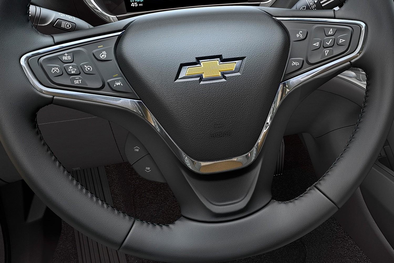 2017 Chevrolet Volt Premier 4dr Hatchback Steering Wheel Detail