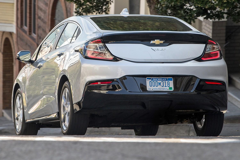 2017 Chevrolet Volt LT 4dr Hatchback Exterior