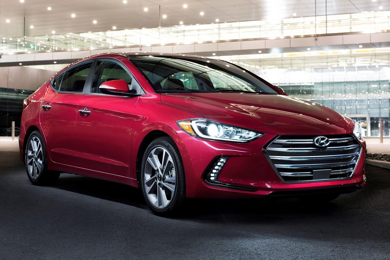 2017 Hyundai Elantra Limited Sedan Exterior Shown