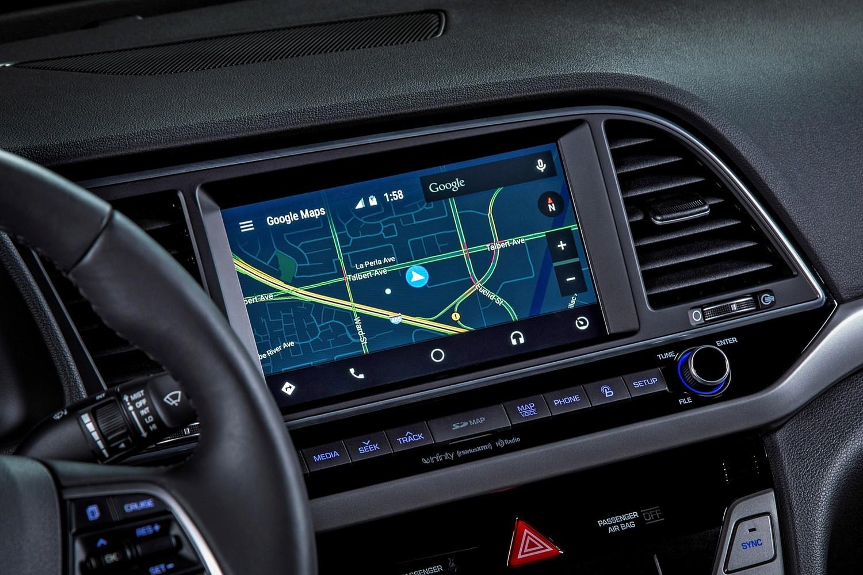 2017 Hyundai Elantra Limited Sedan Navigation System