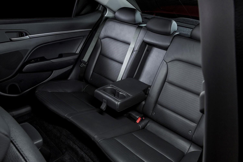 2017 Hyundai Elantra Limited Sedan Rear Interior