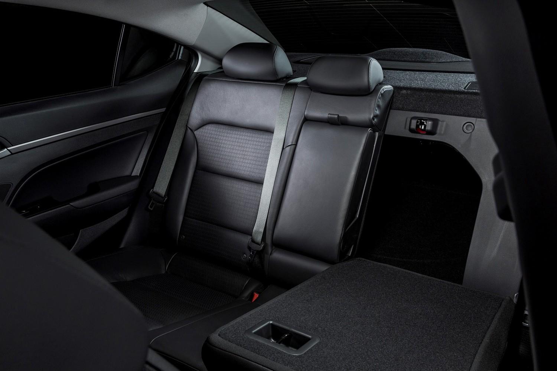 2017 Hyundai Elantra Limited Sedan Interior