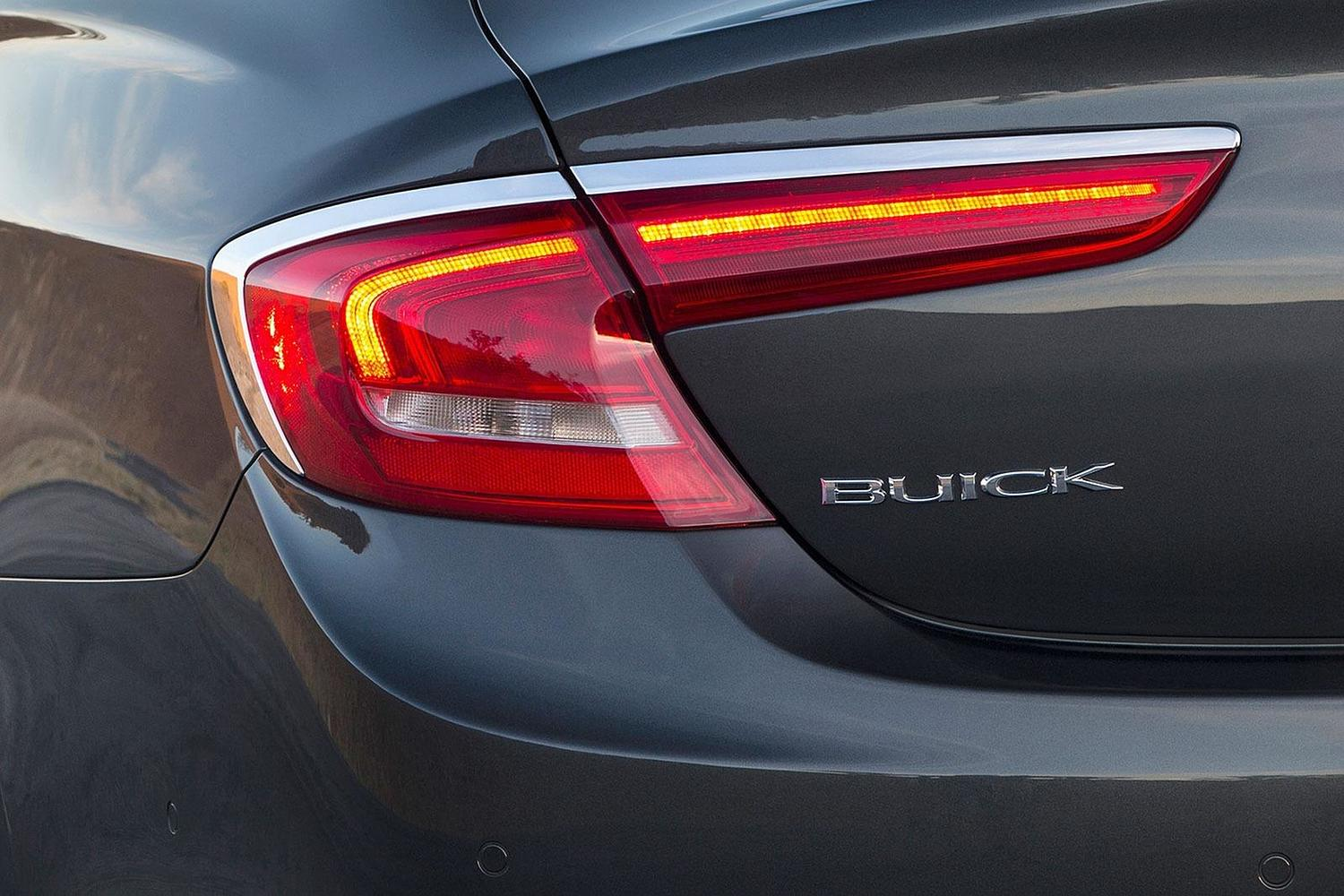 Buick LaCrosse Premium Sedan Rear Badge (2017 model year shown)