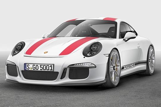 2016 Porsche 911 Coupe R