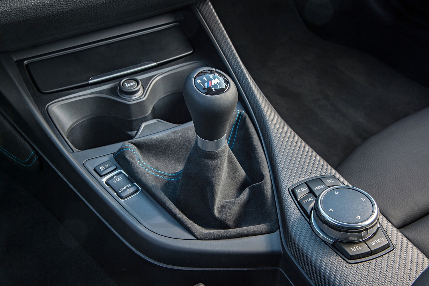 BMW M2 Coupe Shifter (2016 model year shown)
