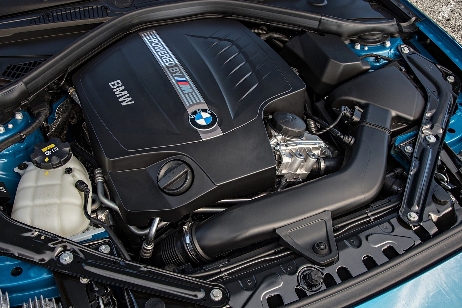 BMW M2 Coupe 3.0L V6 Turbo Engine (2016 model year shown)