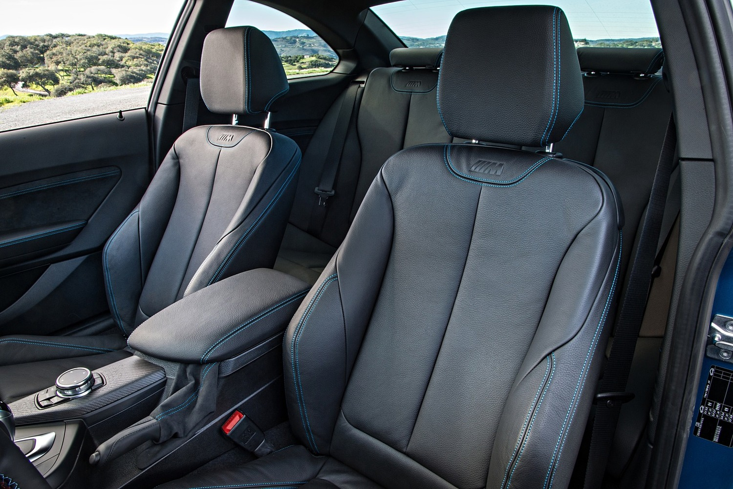 BMW M2 Coupe Interior (2016 model year shown)