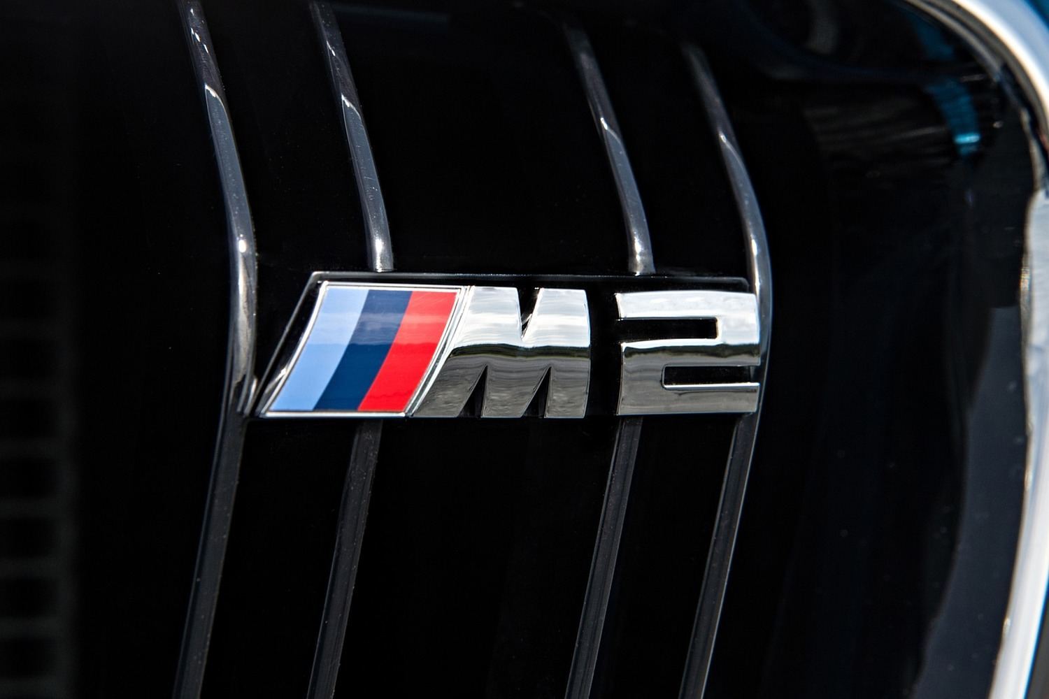 BMW M2 Coupe Front Badge (2016 model year shown)