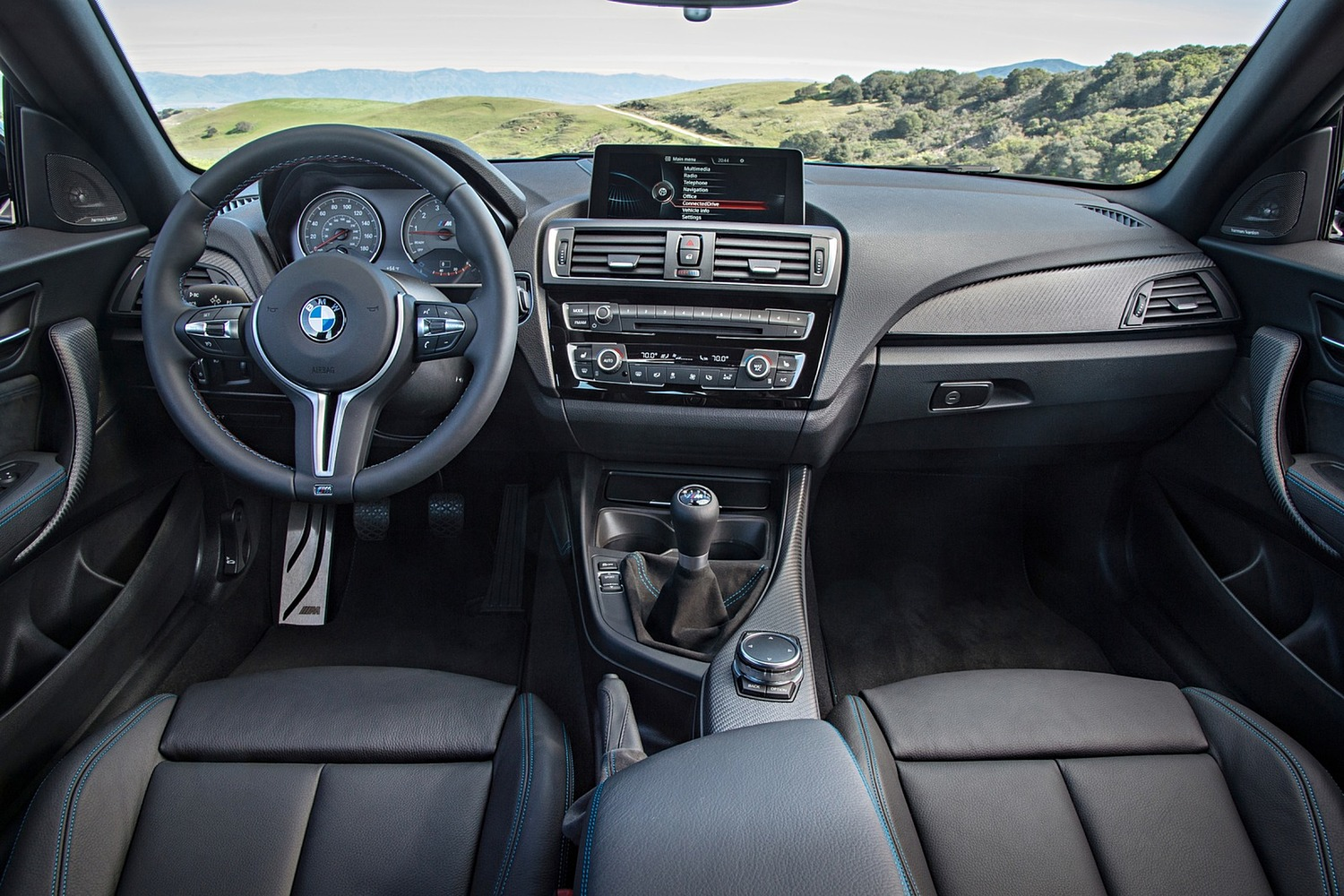 BMW M2 Coupe Dashboard (2016 model year shown)