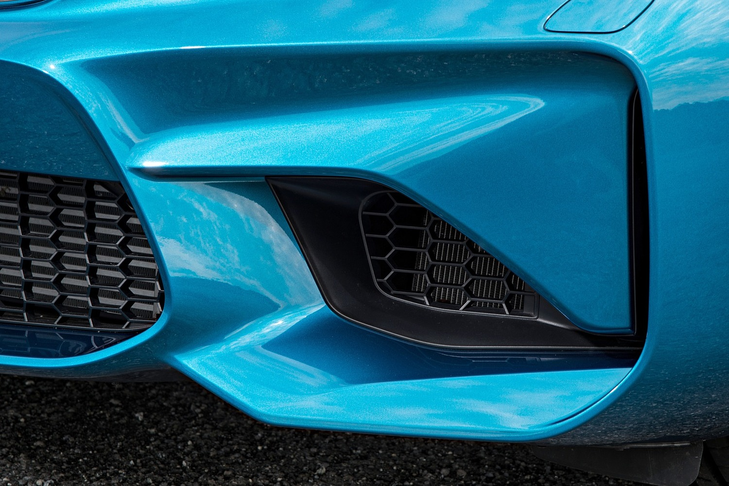 BMW M2 Coupe Exterior Detail (2016 model year shown)