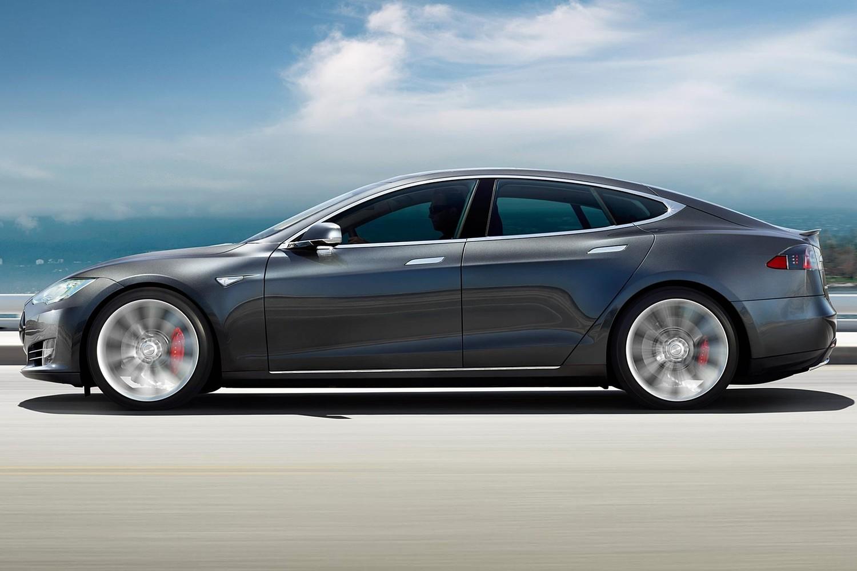 2016 Tesla Model S P90D Sedan Exterior
