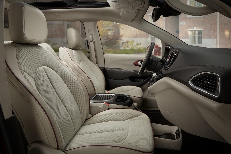 Chrysler Pacifica Limited Passenger Minivan Interior Shown (2017 model year shown)