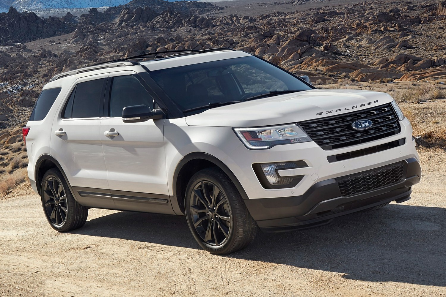 2017 Ford Explorer XLT 4dr SUV Exterior. Sport Appearance Package Shown.