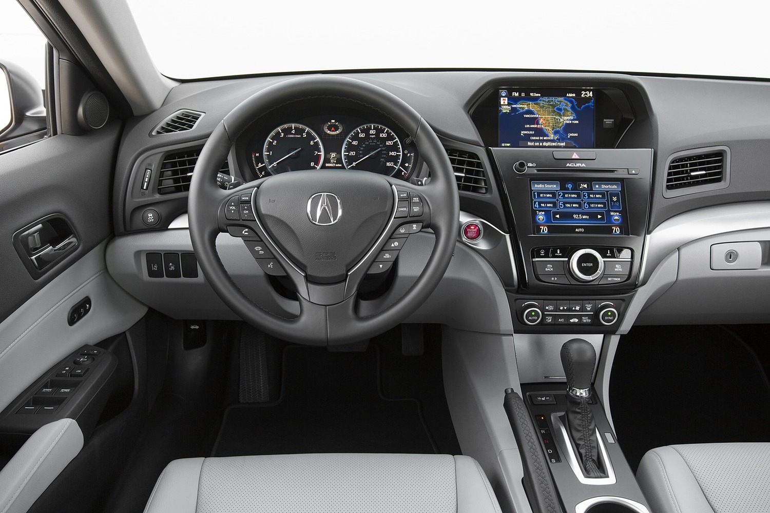 2017 Acura ILX Technology Plus Package Sedan Steering Wheel Detail