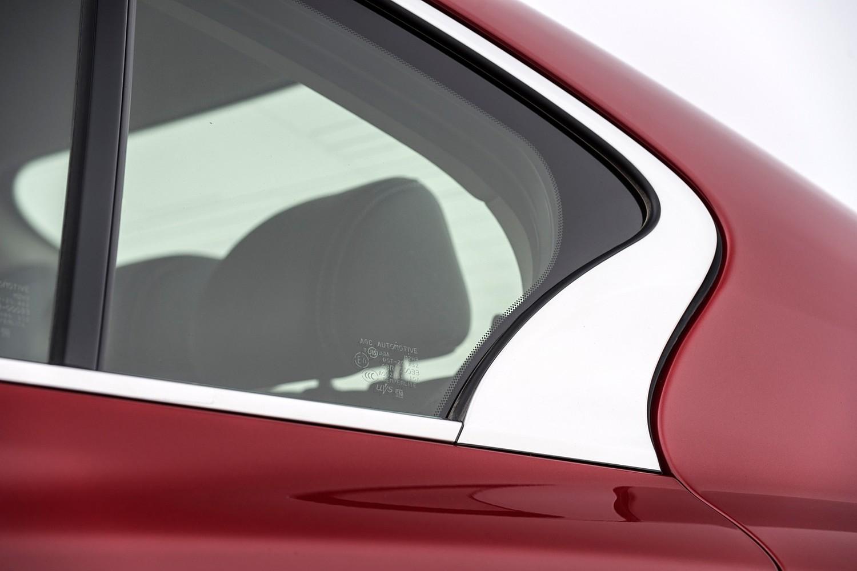 Infiniti Q50 Red Sport 400 Sedan Exterior Detail (2016 model year shown)