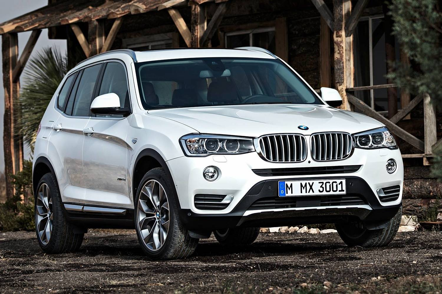 2017 BMW X3 xDrive28d 4dr SUV Exterior. xLine Package Shown.