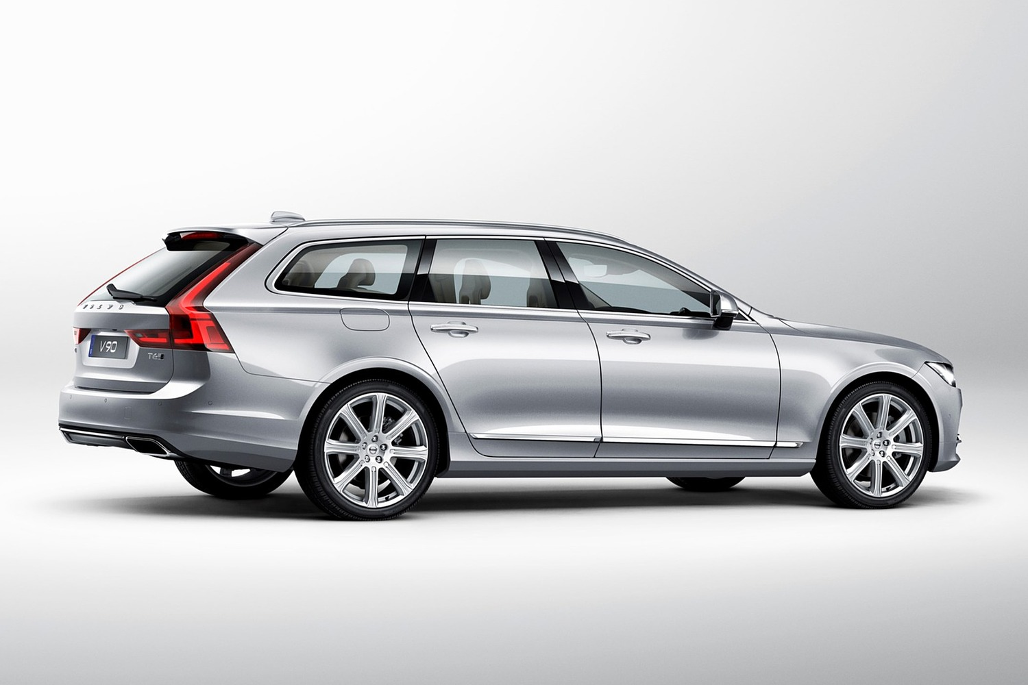 2018 Volvo V90 Wagon Exterior. Target Launch Spring 2017.