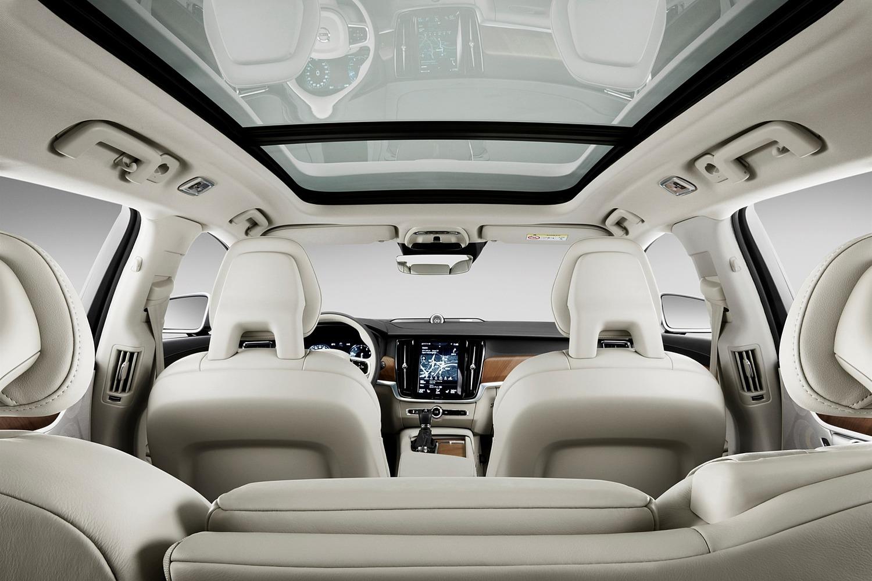 2018 Volvo V90 Wagon Interior. Target Launch Spring 2017.