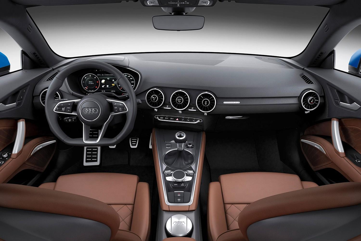 Audi TT 2.0T quattro Coupe Dashboard (2017 model year shown)