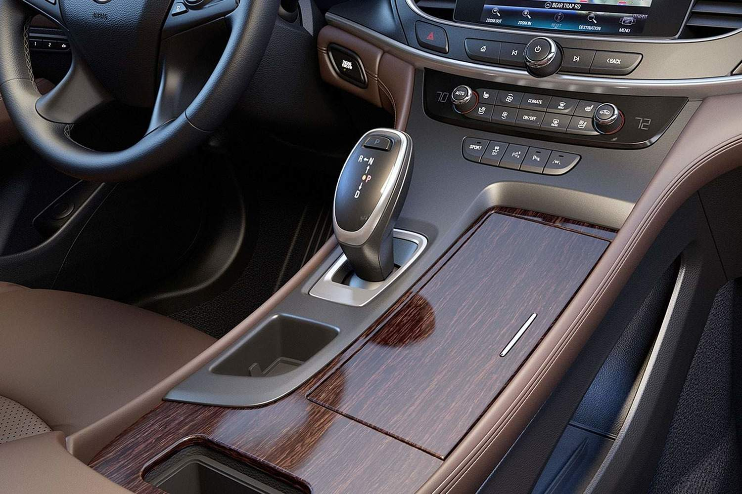 Buick LaCrosse Premium Sedan Shifter (2017 model year shown)