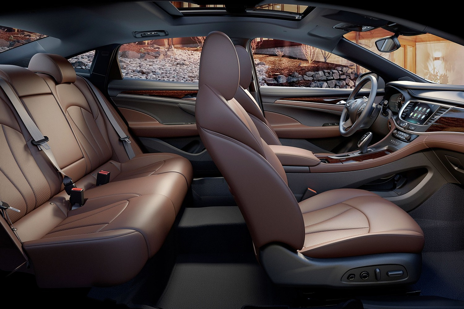 Buick LaCrosse Premium Sedan Interior (2017 model year shown)