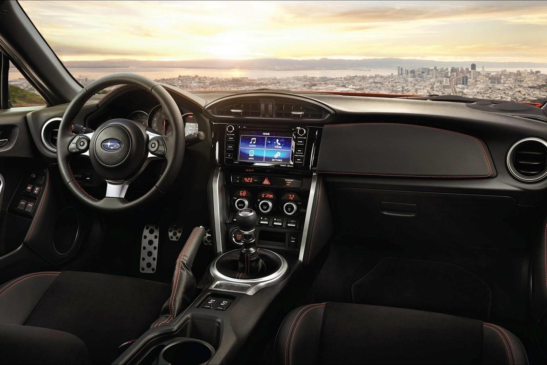Subaru BRZ Limited Coupe Dashboard Shown (2017 model year shown)