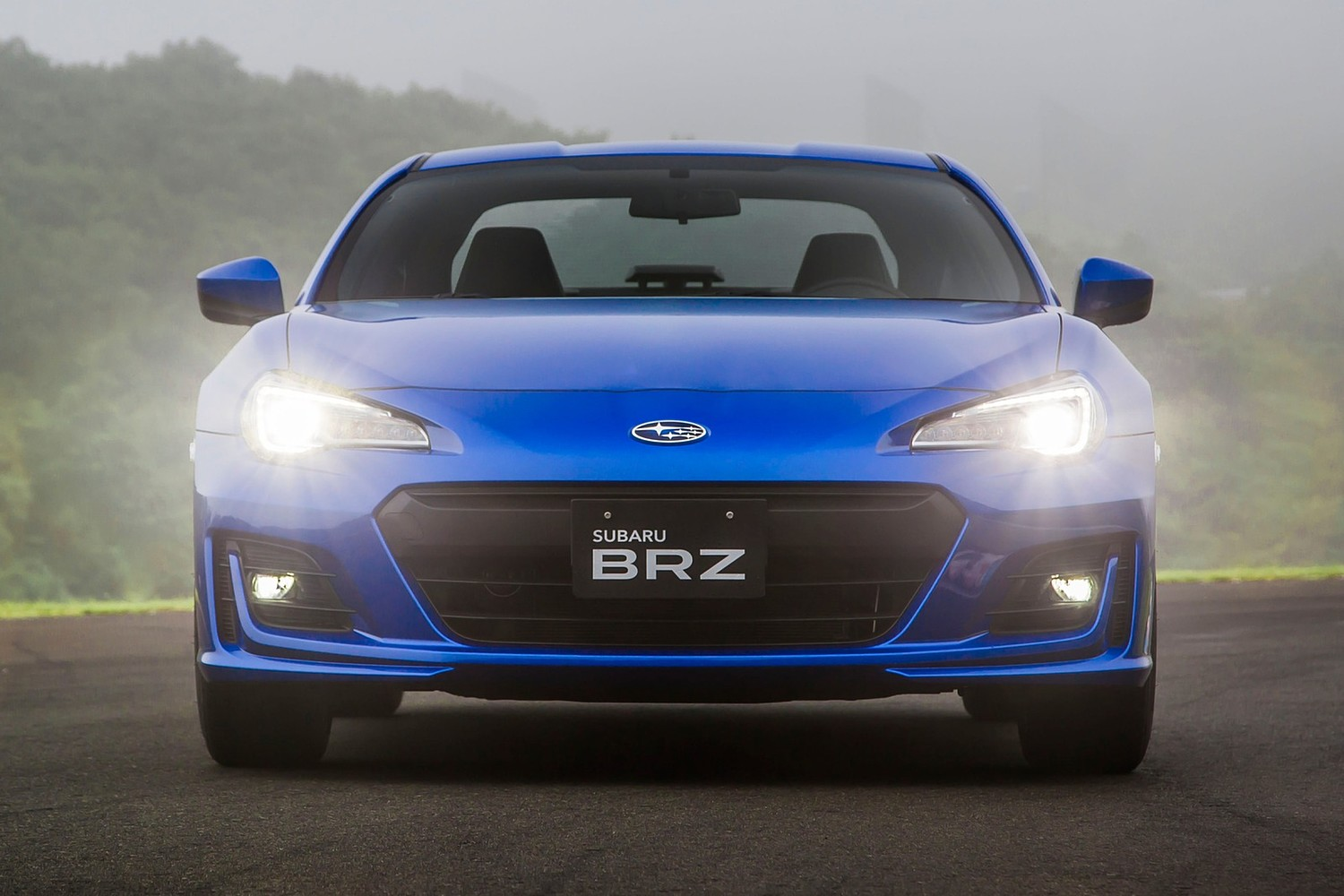 Subaru BRZ Limited Coupe Exterior (2017 model year shown)
