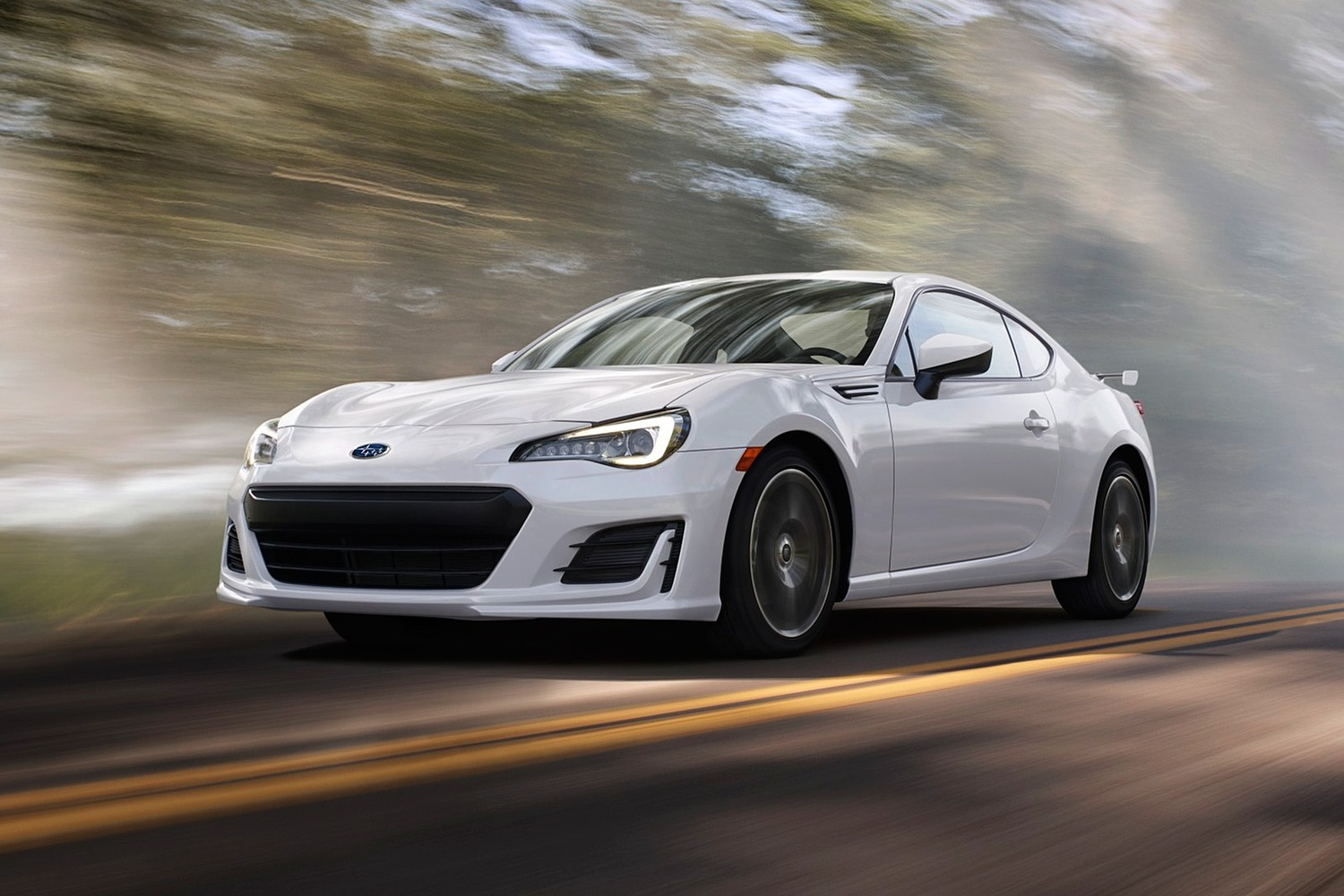 Subaru BRZ Limited Coupe Exterior Shown (2017 model year shown)