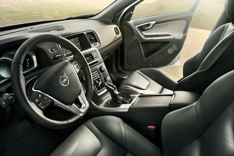 Volvo S60 T5 Dynamic Sedan Interior (2017 model year shown)