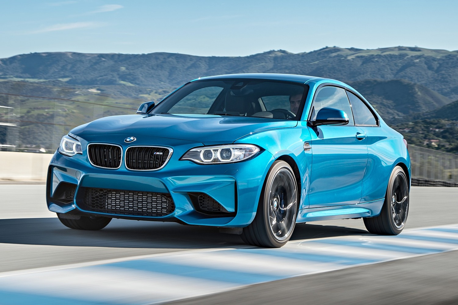 BMW M2 Coupe Exterior (2017 model year shown)