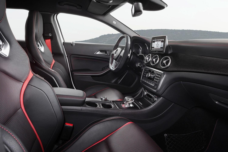 Mercedes-Benz GLA-Class AMG GLA45 4MATIC 4dr SUV Interior (2017 model year shown)