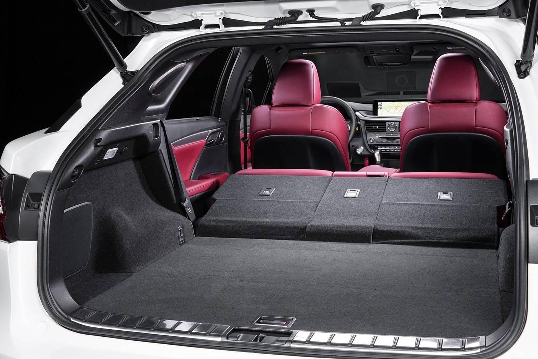 Lexus RX 350 F SPORT 4dr SUV Interior (2017 model year shown)