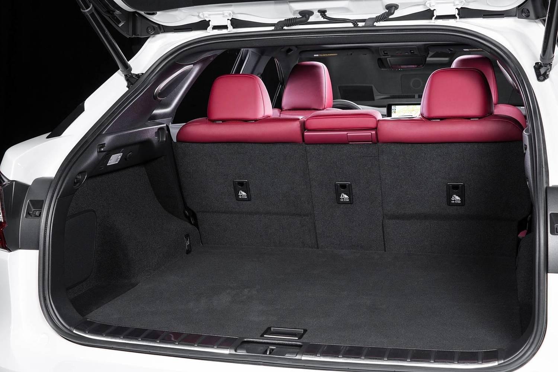 Lexus RX 350 F SPORT 4dr SUV Cargo Area (2017 model year shown)