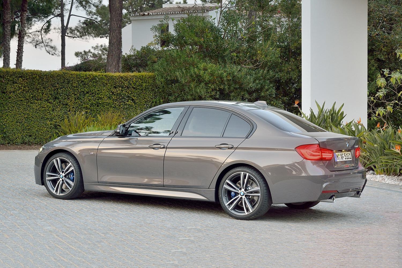 BMW 3 Series 340i Sedan Exterior. M Sport Package Shown. (2017 model year shown)