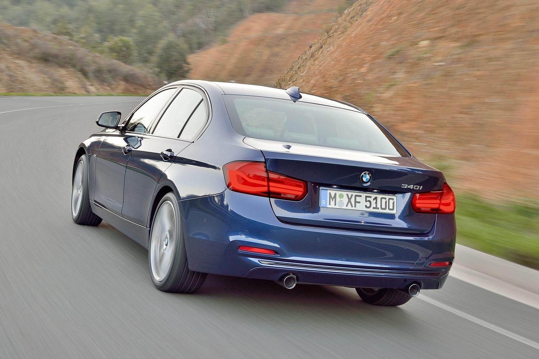 BMW 3 Series 340i Sedan Exterior (2017 model year shown)
