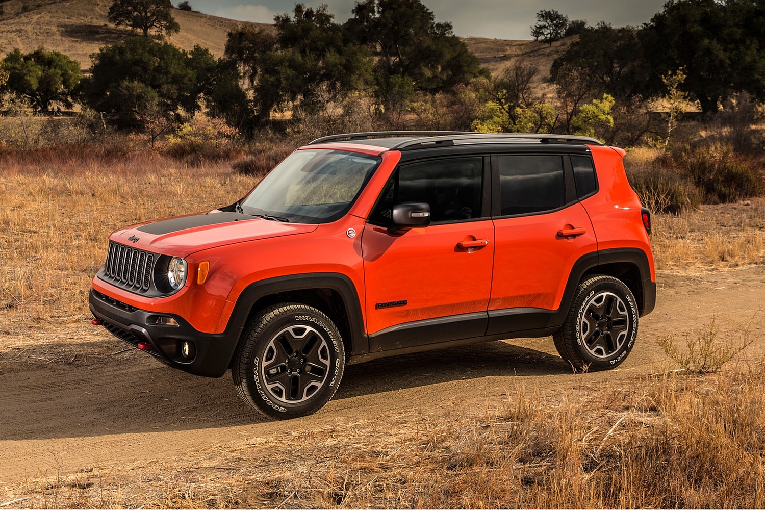 2017 Jeep Renegade Trailhawk 4dr SUV Exterior Shown