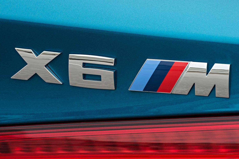 2017 BMW X6 M 4dr SUV Rear Badge