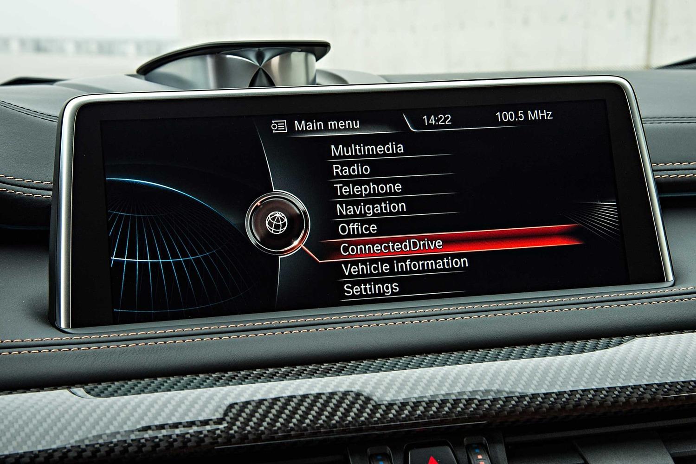 2017 BMW X6 M 4dr SUV Center Console