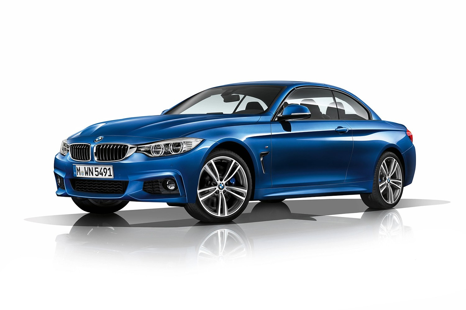 2017 BMW 4 Series 440i Convertible Exterior. M Sport Package Shown.