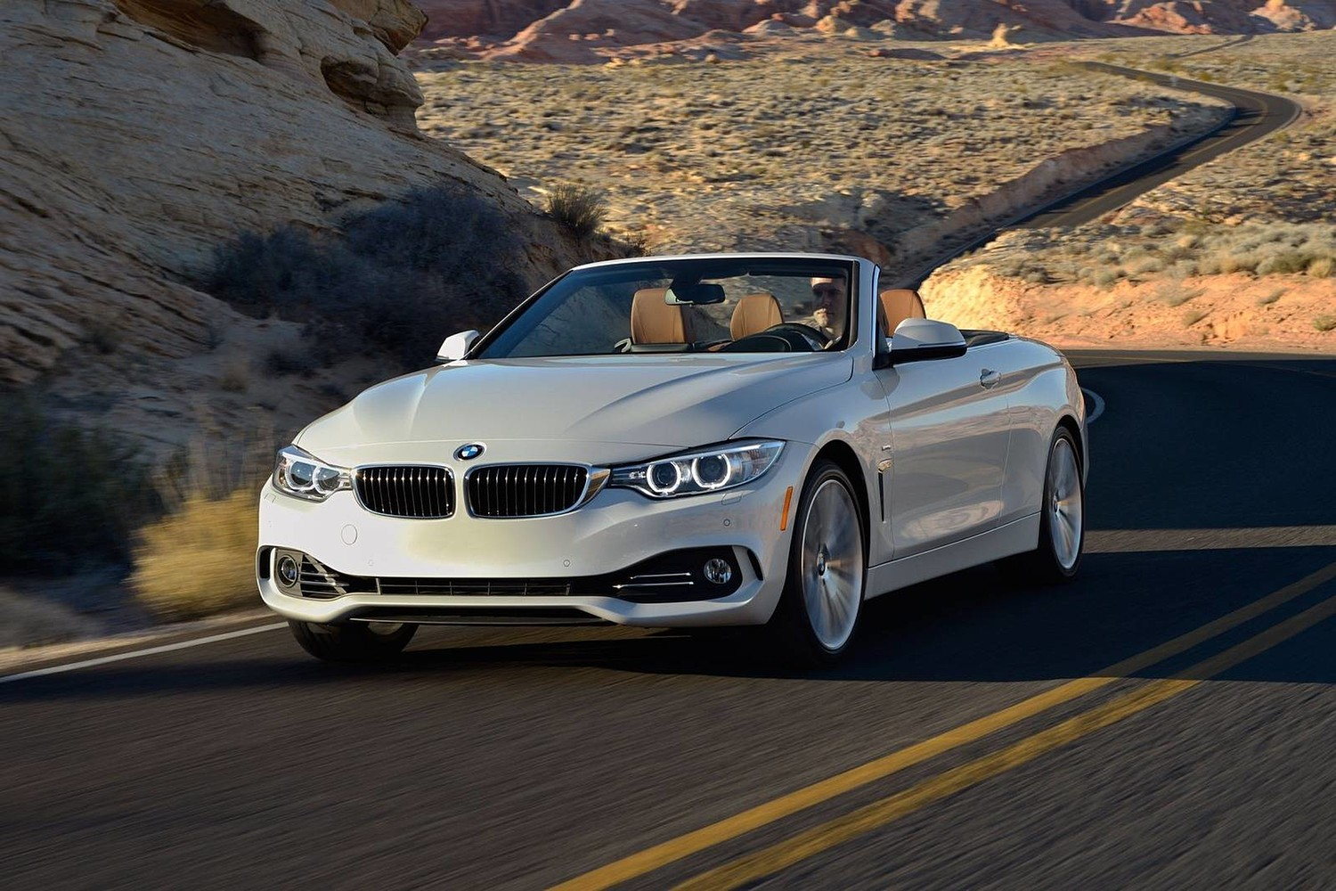 2017 BMW 4 Series 440i Convertible Exterior. Luxury Line Package Shown.