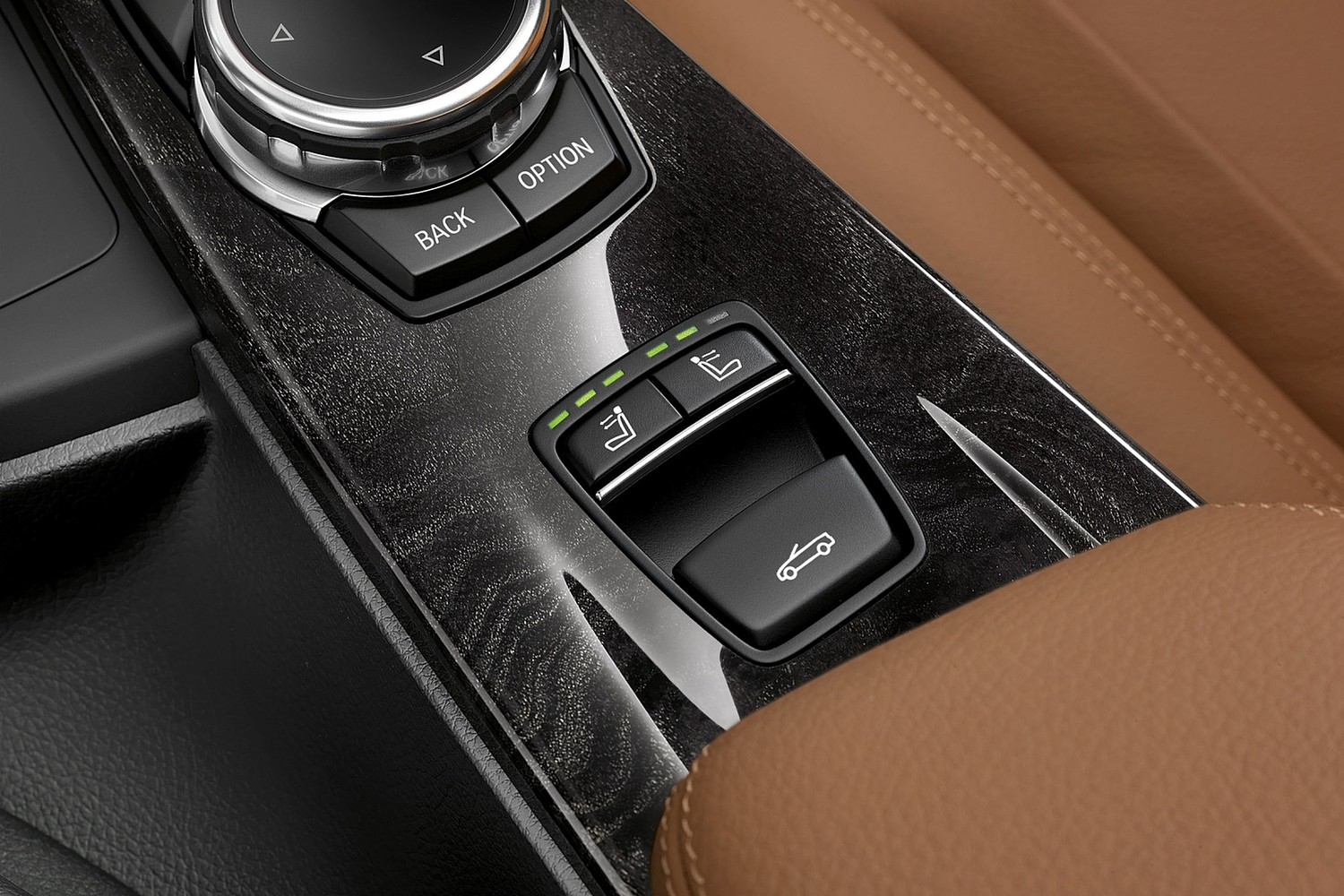 2017 BMW 4 Series 430i SULEV Convertible Aux Controls. Luxury Line Package Shown.