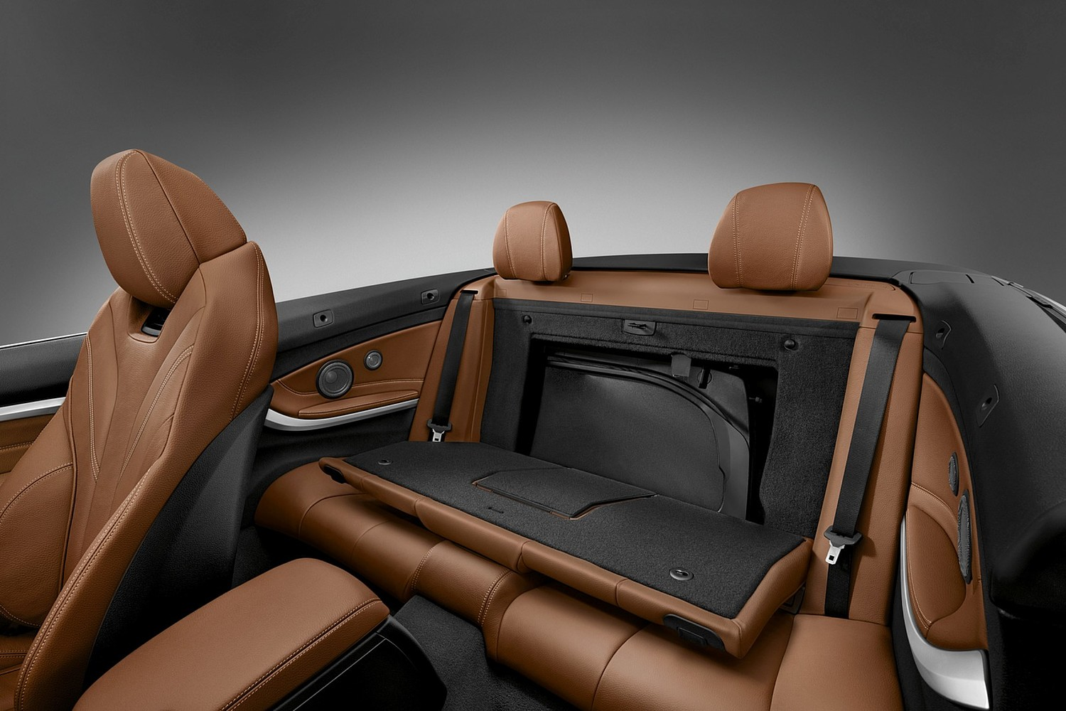 2017 BMW 4 Series 430i SULEV Convertible Interior. Luxury Line Package Shown.