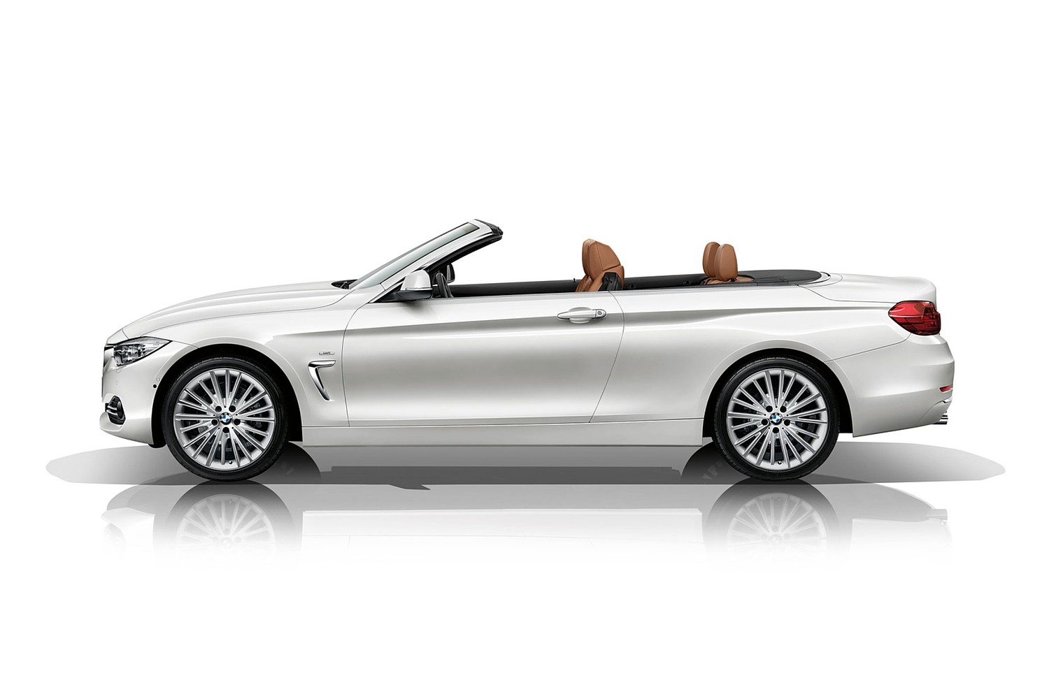 2017 BMW 4 Series 430i SULEV Convertible Exterior. Luxury Line Package Shown.
