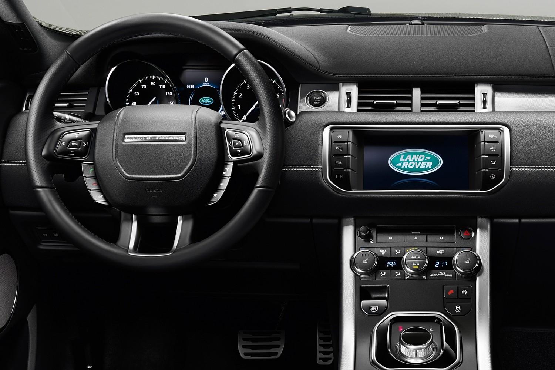 2017 Land Rover Range Rover Evoque Shown HSE Dynamic Steering Wheel Detail