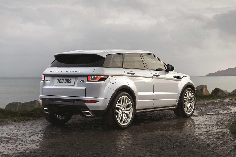 2017 Land Rover Range Rover Evoque Shown HSE Dynamic Exterior