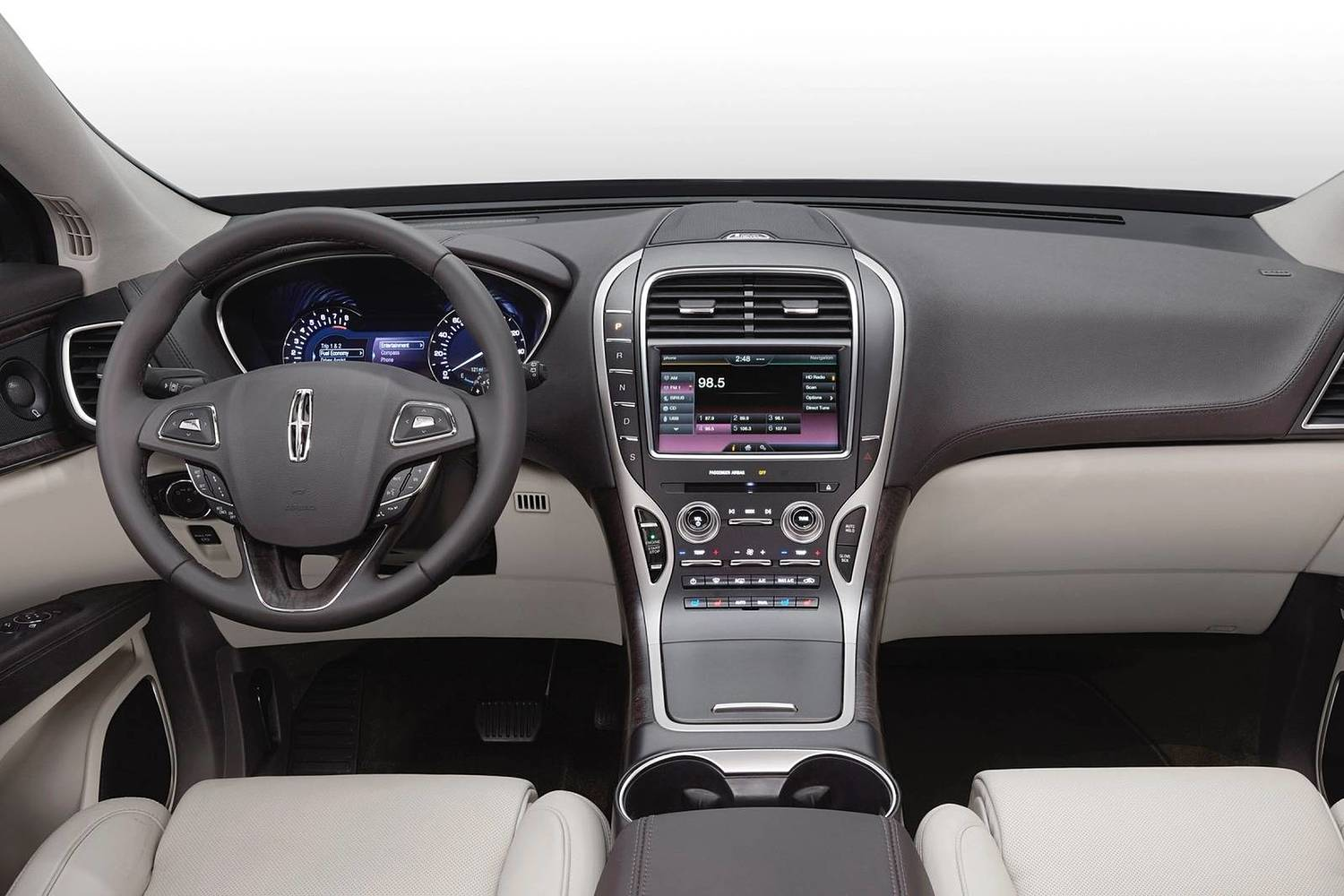 Lincoln MKX Reserve 4dr SUV Dashboard (2017 model year shown)