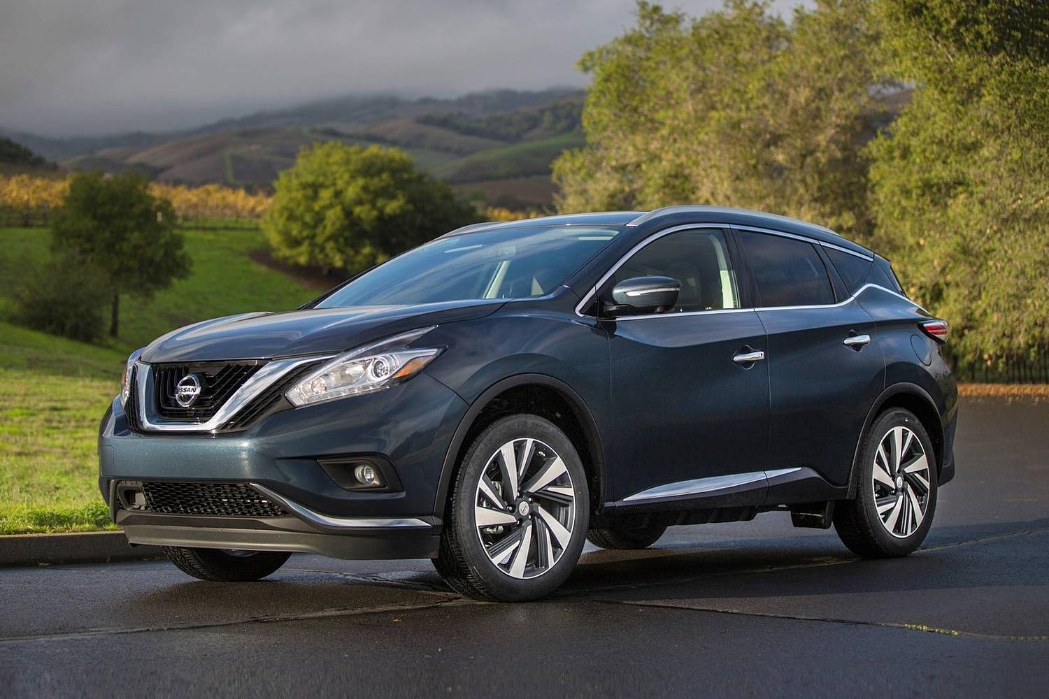 Nissan Murano Platinum 4dr SUV Exterior Shown (2017 model year shown)