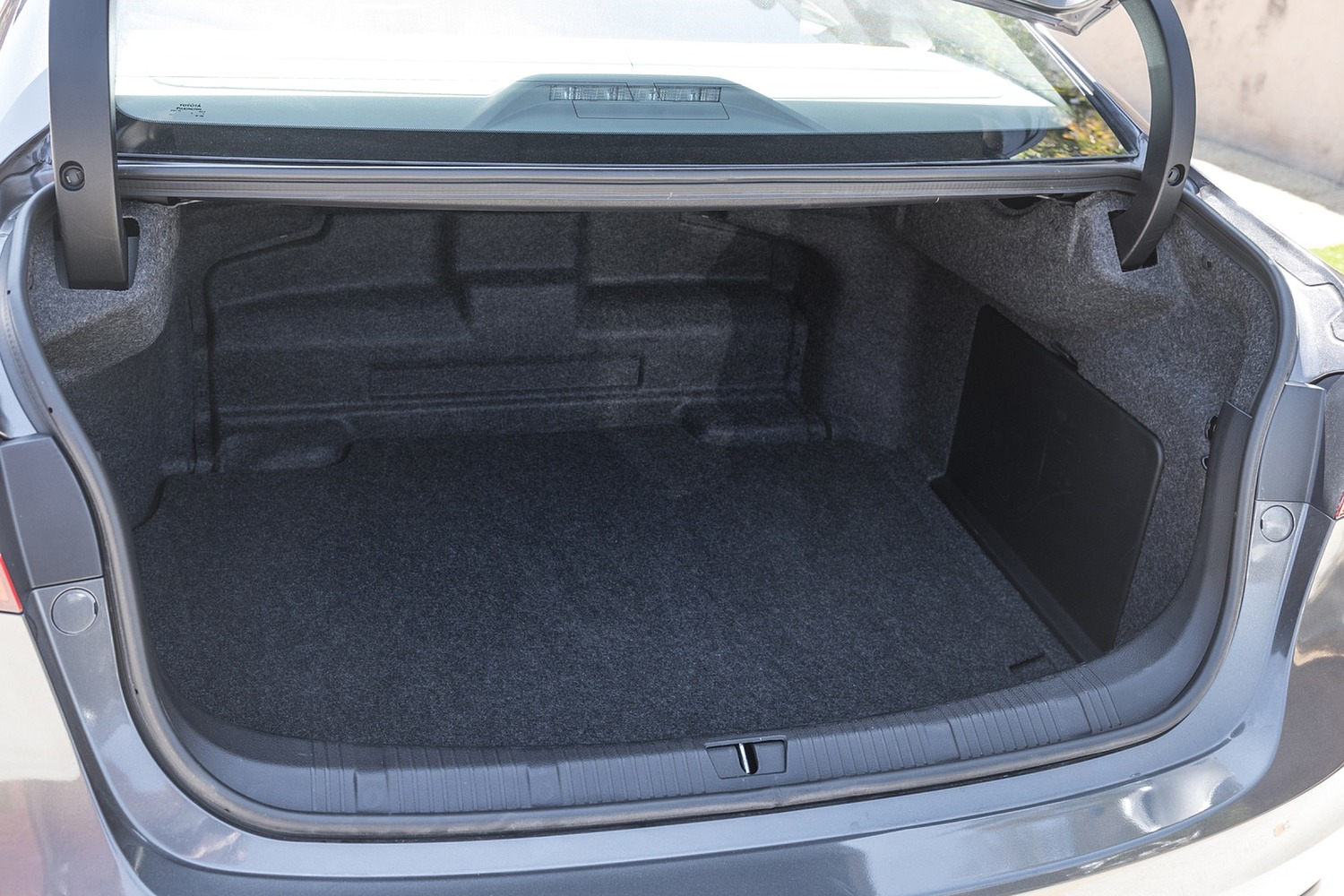 Toyota Avalon Hybrid Sedan Cargo Area (2017 model year shown)