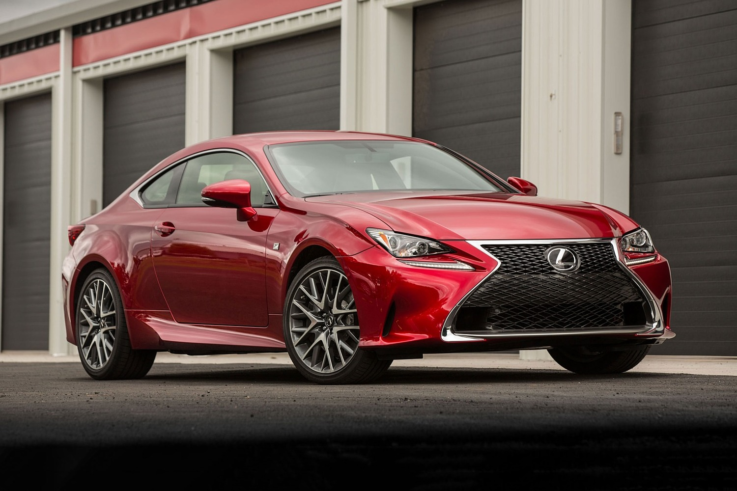 Lexus RC 350 Coupe Exterior. F-Sport Package Shown. (2017 model year shown)