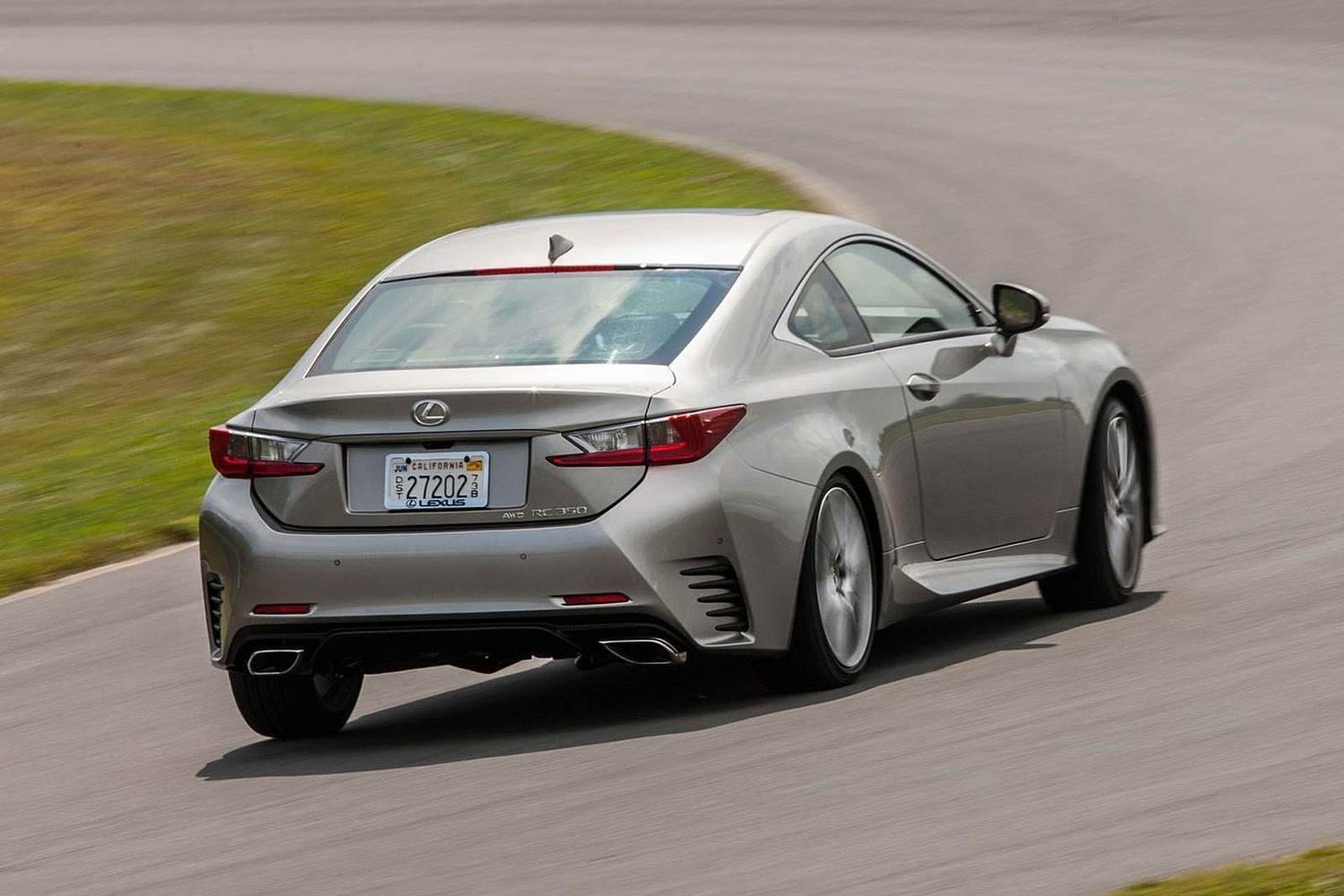 Lexus RC 350 Coupe Exterior (2017 model year shown)